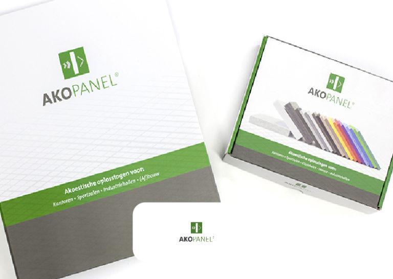 Presentatiemateriaal voor Akopanel
