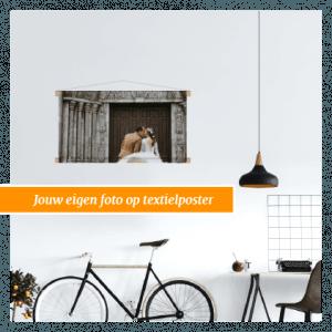 Textielposter met eigen foto