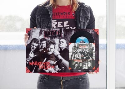 Mooi Wark & Normaal Vinyl op HD Metal Glans