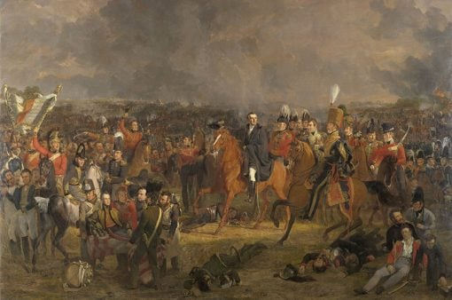 Jan Willem Pieneman - De slag bij Waterloo