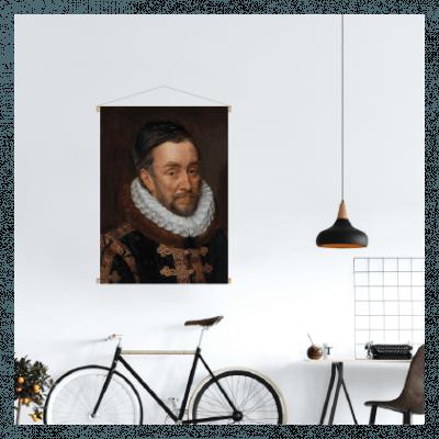 textielposter oude meester schilderij prins oranje
