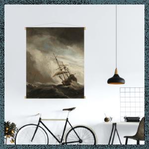 textielposter schilderij oude meester kunst