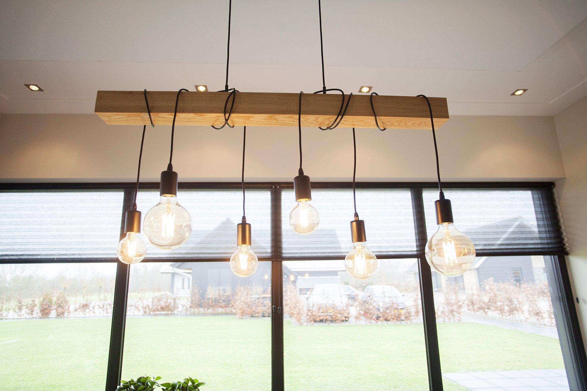geluidsabsorberend plafondpaneel in keuken panelprint