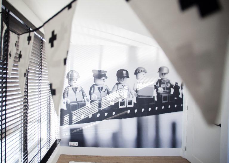 Aankleding kinderkamers met fotobehang