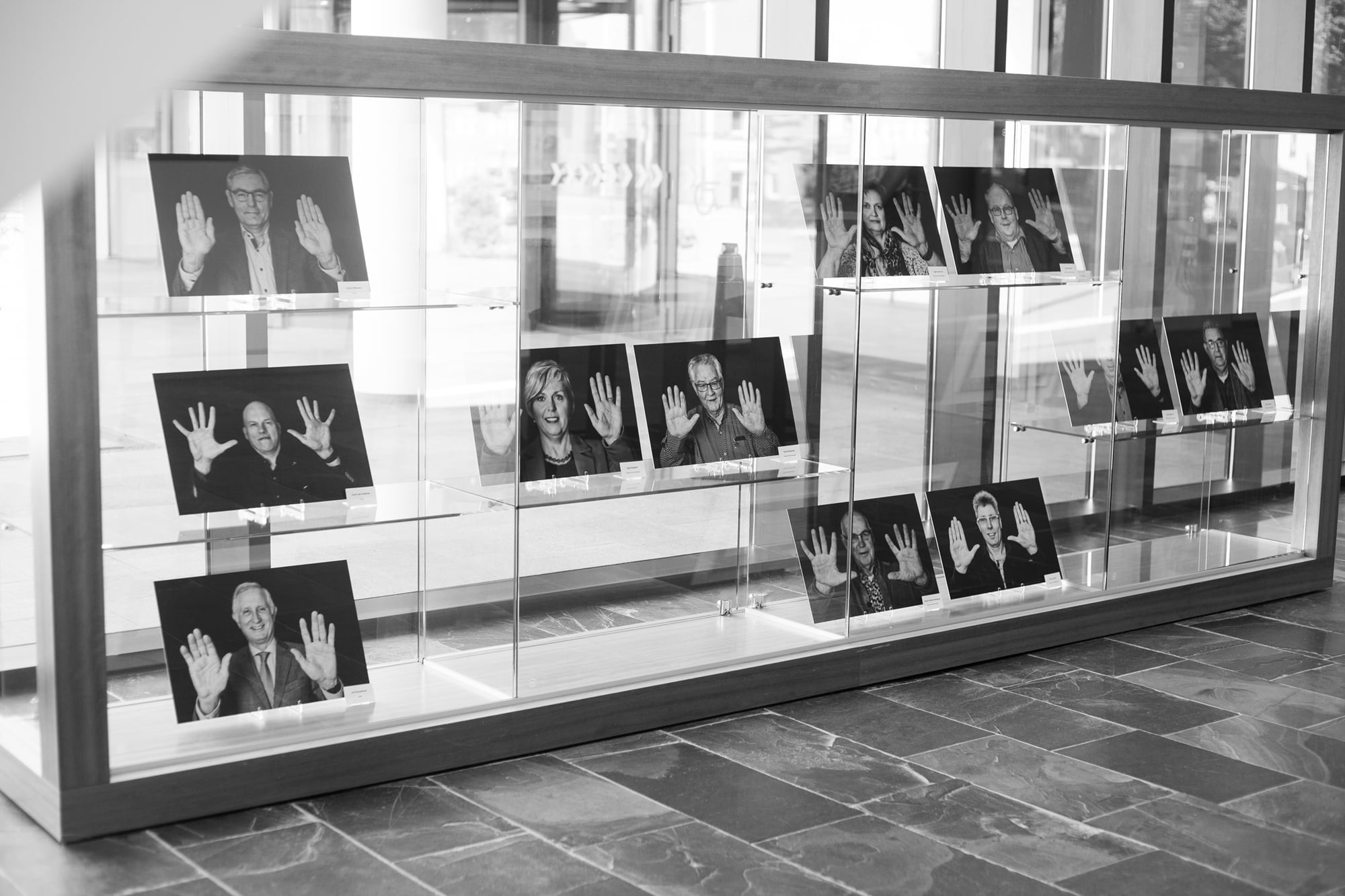 Foto expositie in Gemeente huis Gemeente Dalfsen