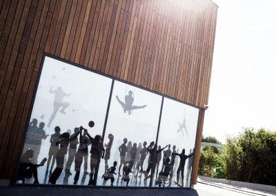 Glasvisuals voor Kulturhus de Spil