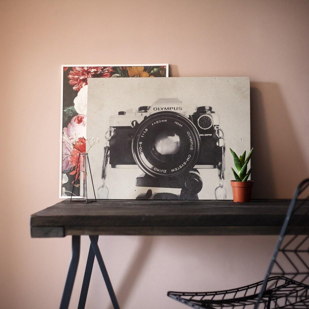 Zwart-wit foto's geven de beton look&feel