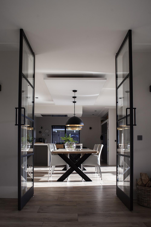 Geluidsabsorberend plafondpaneel in de keuken