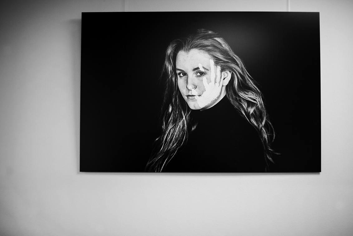Portret op Hd-Metal