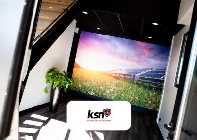 Fotobehang bij Keuring Service Nederland