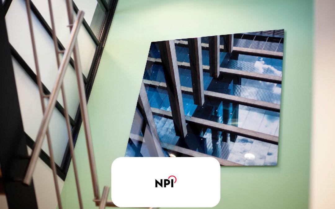 Wanddecoratie kantoor NPI Nieuwegein