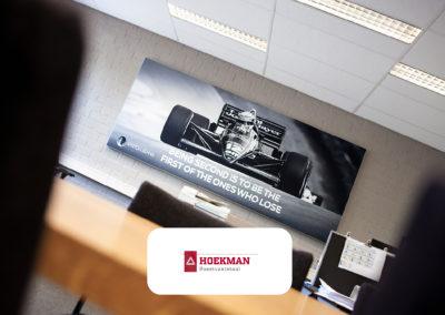 Verbetering akoestiek in kantoren van Hoekman (Fase 2)