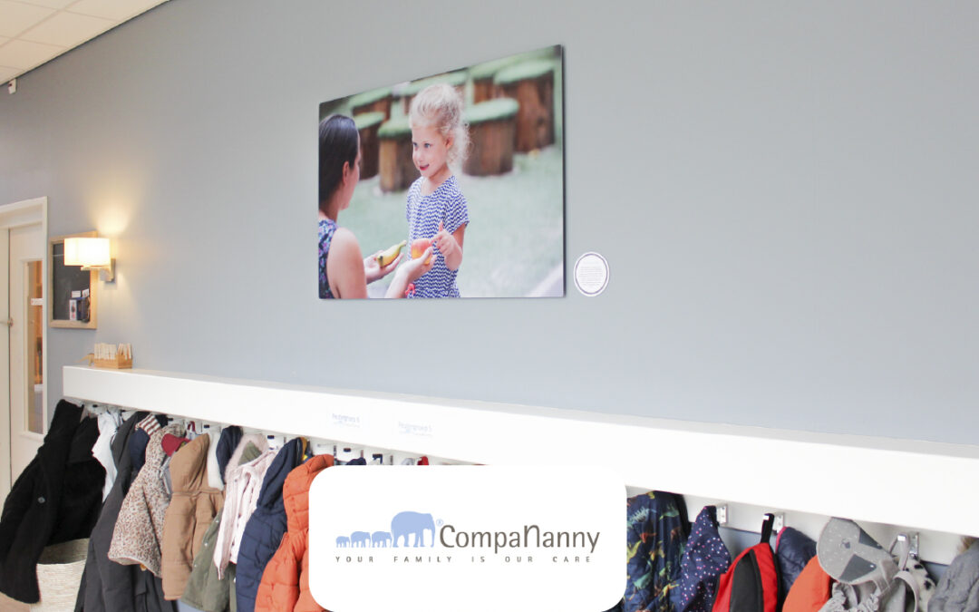 HD Metal wanddecoratie bij CompaNanny