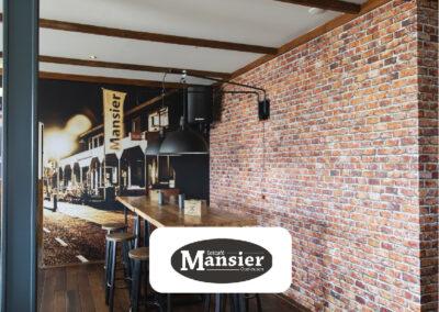 Fotobehang bij Eetcafé Mansier